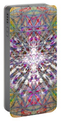 Assent From The Womb In The Flower Tree Of Life Portable Battery Charger