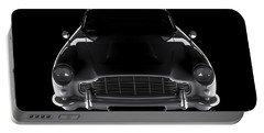 Aston Martin Db5 - Front View Portable Battery Charger