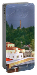 Astoria Oregon Portable Battery Charger by Methune Hively