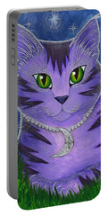 Astra Celestial Moon Cat Portable Battery Charger
