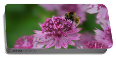 Pollination Portable Battery Charger by Shirley Mitchell