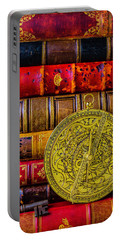Astrolabe And Old Books Portable Battery Charger