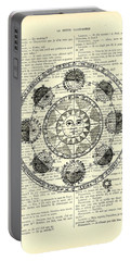 Astrology Chart, Solar System Portable Battery Charger