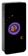 Astronaut In Deep Space Portable Battery Charger