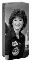 Astronaut Sally Ride  Portable Battery Charger