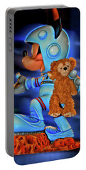 Astronaut Training Bear Mp Portable Battery Charger