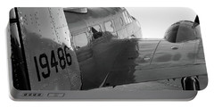 At-11 In Black And White - 2017 Christopher Buff, Www.aviationbuff.com Portable Battery Charger