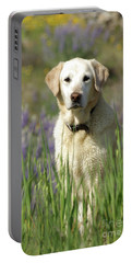 Portable Battery Charger featuring the photograph At Attention by Jim and Emily Bush