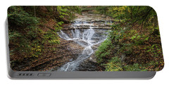 Portable Battery Charger featuring the photograph At Bridal Veil Falls by Dale Kincaid