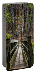 Portable Battery Charger featuring the photograph At Bridge by Kevin Blackburn