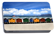 Portable Battery Charger featuring the photograph At The Beach by David Dehner