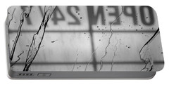 Portable Battery Charger featuring the photograph At The Car Wash by Colleen Coccia
