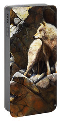 At The Edge Of Time Portable Battery Charger