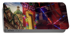 At The Feast Of San Gennaro - Colors Of Joy Portable Battery Charger