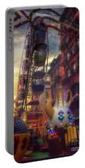 At The Feast Of San Gennaro - Rides Of Wonder Portable Battery Charger
