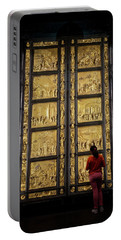 Portable Battery Charger featuring the photograph At The Gates Of Paradise by Joan Carroll