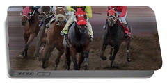 At The Racetrack 3 Portable Battery Charger