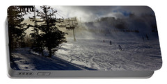At The Ski Slope Portable Battery Charger