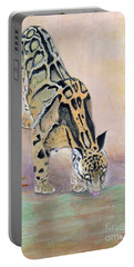 At The Waterhole - Painting Portable Battery Charger by Veronica Rickard