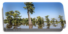 Atchafalaya Cypress Tree Portable Battery Charger