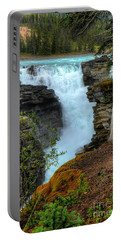 Athabasca Falls Jasper National Park Portable Battery Charger