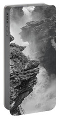 Athabasca Falls Portable Battery Charger