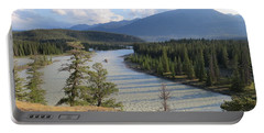 Athabasca River - Jasper Portable Battery Charger