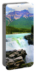 Athabaska Falls Portable Battery Charger