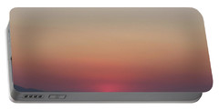 Athens Ombre Sunset Portable Battery Charger