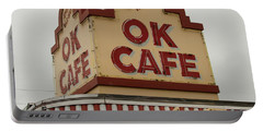 Atlanta Classic Ok Cafe Atlanta Restaurant Art Portable Battery Charger