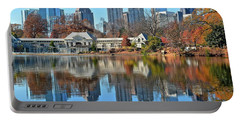 Atlanta Reflected Portable Battery Charger by Frozen in Time Fine Art Photography