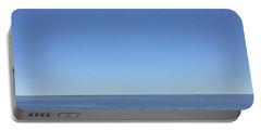 Atlantic Blue Horizon Portable Battery Charger by Patricia E Sundik