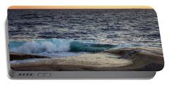 Atlantic Ocean, Nova Scotia Portable Battery Charger by Heather Vopni