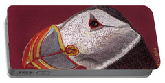 Atlantic Puffin Profile Portable Battery Charger