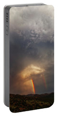Portable Battery Charger featuring the photograph Atmosphere by Rick Furmanek