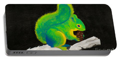 Atomic Squirrel Portable Battery Charger by Stefanie Forck