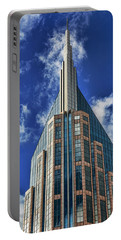 Portable Battery Charger featuring the photograph Att Nashville by Stephen Stookey