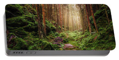 Attractive Pathway In Saxon Switzerland Portable Battery Charger