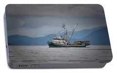 Portable Battery Charger featuring the photograph Attu Off Madrona by Randy Hall