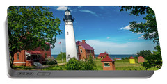 Au Sable Lighthouse  Portable Battery Charger