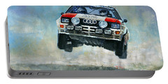 Audi Quattro Gr.4 1982 Portable Battery Charger