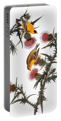 Audubon: Goldfinch Portable Battery Charger