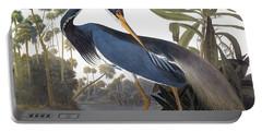 Audubon Heron, 1827 Portable Battery Charger