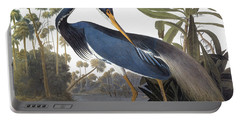 Audubon Heron, 1827 Portable Battery Charger