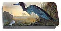 Audubon: Little Blue Heron Portable Battery Charger
