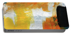 August- Abstract Art By Linda Woods. Portable Battery Charger by Linda Woods