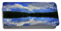 August Summertime On Buck Lake Portable Battery Charger