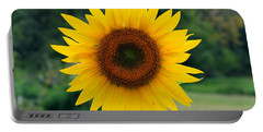 August Sunflower Portable Battery Charger