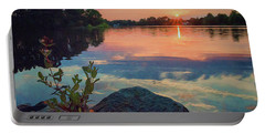 August Sunset Portable Battery Charger
