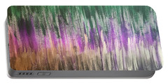 Portable Battery Charger featuring the painting Aurora by Alisha Anglin